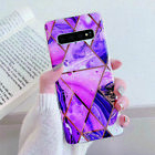 Marble Case For Samsung Galaxy S10 S9 S8 Plus A40 A50 A70 Shockproof Slim Cover