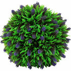 Simulated Grass Ball Lavender Garden Lawn Plant Hanging Garland Home Decorarion