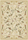 "ORIENTAL IVORY AREA RUG 8X11 LARGE Persien CARPET 019 - ACTUAL 7' 8"" x 10' 4"""
