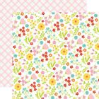 "Floral Fun - Easter Wishes Double-Sided Cardstock 12""X12"" - 25/pack"