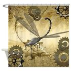 CafePress Steampunk, Awesome Steam Dragonfly Shower Curtain (1700049694)