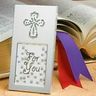 30-144 Shining Cross Picture Frame - Christening Religious Wedding Favors