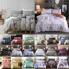 Ethnic Hippie Duvet Quilt Cover Pillowcases Bedding Set Softs Twin King Queen image