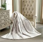 """Oversized Luxury Faux Fur Throw Silky Soft Pile Blanket Cover 60"""" x 70"""""""