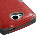 For LG Transpyre Rugged Hybrid TUFF Impact Cover Case +Built-In Stand