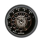 CafePress Rotary Phone Vintage Dial Telephone Wall Clock (1695889470)