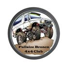 CafePress Classic Fullsizebronco.Com Design Wall Clock (1178982152)