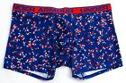 "Under Armour Blue Printed  6"" Boxerjock Boxer Brief Underwear Men's NWT"