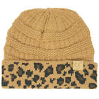 CC Kids Classic Ages 2 to 5 Soft Stretchy Knit Chunky Slouch Beanie Cap Hat