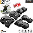 BMX Bike Knee Pads and Elbow Pads with Wrist Guards Protective Gear Ne image