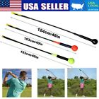 Golf Swing Trainer Aid Stick Indoor Practice Power Strength Tempo Flex Training