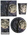 SPOOKY NIGHT Halloween Party Range - Tableware Supplies Decorations Skull Ghost