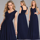 US Ever-Pretty V-neck Long Mother of Bride Dresses Party Evening Prom Ball Gowns $36.89 USD on eBay