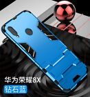 For Huawei Honor 8A 8X 7S 9 10 20 Lite Shockproof Hybrid Armor Stand Case Cover