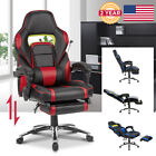 Ergonomic High-Back Reclining Computer Gaming Executive Office Chair w/Footrest