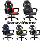 Gaming Chair Racing Style PU Leather Office Executive Computer Desk Seat Swivel
