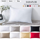 100 % Pure Mulberry Silk Pillowcase Cover Pillowcase For Hair Facial  8 Color image