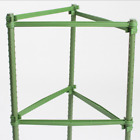 Sturdy Garden Plant Support Stakes Connector Tomato Plant Cage Connector Rod 4x