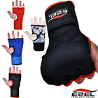 Kyпить Gel Inner Gloves Padded with Hand Wraps MMA Muay Thai Boxing Fight PAIR  на еВаy.соm