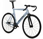 Throne-TRKLRD-Fixed-Gear-Single-Speed-Track-Bicycle-Bike-White-49-52-55-59-CM-
