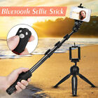 Portable Wireless bluetooth Extendable Tripod Selfie Stick For All Mobile