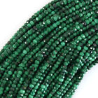 Natural Faceted Green Malachite Rondelle Beads 15.5 Strand 3mm 4mm 5mm 6mm 8mm