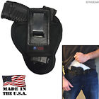 Tuckable IWB Soft Suede Leather Holster - Pick Your Model *MADE N USA*