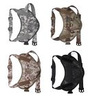 Tactical Scorpion Small Dog Training Vest K9 Camo MOLLE Harness D3