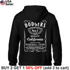 Los Angeles Dodgers Hoodie JD Whiskey Hooded Sweat Shirt Sweatshirt Sweater LA on Ebay