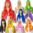 WOMENS LADIES 60 CM LONG WIG FANCY STRAIGHT DRESS COSPLAY WIGS POP PARTY COSTUME