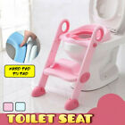 Potty Trainer Toilet Seat Chair Kids Toddler With Ladder Step Up Training  image