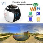 New V1 4K 360 Action Camera Mini Wifi Panoramic Camera 2448*2448 Ultra HD Panora