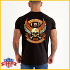 FREESHIP Sturgis Vintage T-shirt Harley Davidson Motorcycle Eagle BLack S-6XL $17.99 USD on eBay