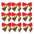Bows+Bowknot+Christmas+Tree+Ornaments+Holiday+Party+Garden+Home+Decor+Red%26Gold
