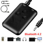 3.5mm Audio Wireless bluetooth 5.0 Transmitter  Receiver 2 In 1 Adapter RX/TX Y