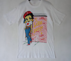 Vintage 90s BETTY BOOP Super Rare Design Short Sleeve Men T-Shirt F171 $14.24 USD on eBay