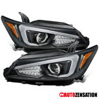 For 2011-2013 Scion tC LED Signal DRL Bar Black Clear Projector Headlights Lamps $403.65 CAD on eBay