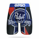 Pabst Blue Ribbon Beer Boxer Briefs Black