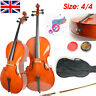 More images of Authentic  Craftsmanship 4 / 4 Retro Style Cello+Bow&Case ~Excellent Condition~ UK