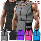 Lady Sauna Thermo Sweat Waist Trainer Vest Body Shaper Tummy Slimmer Belt Corset