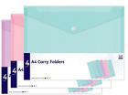 Home & Office Stationery - School College Supplies - Filing Stud Wallets {Anker}