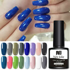 NEE JOLIE 8ml Blue Series UV Gel Nail Polish Soak Off Nail Art Varnish Decors