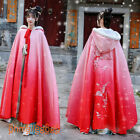 Hanfu Women's Cloak Ancient Costume Jackets Chinese Capes Hooded Coats Cosplay