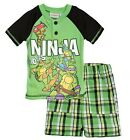 Teenage Mutant Ninja Turtle Nickelodeon Little Boys Short Set 2T 3T 4T 5T A30844