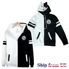 Danganronpa Monokuma High School Costume Unisex Jacket Sweater Sweatshirt Hoodie