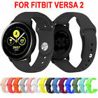 Replacement Silicone Band Strap For Samsung Galaxy Watch Active 2 40mm 44mm image