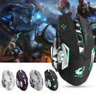Rechargeable X8 Wireless Silent LED Backlit USB Optical Ergonomic Gaming Mouse H