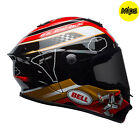 Bell Street Star MIPS Graphic ECE DOT Approved Motorbike Riding Helmet
