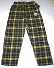 Nwt New Pittsburgh Steelers Logo NFL Football Sleepwear Sleep Pants Plaid Men $24.99 USD on eBay