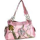 Dasein Fleur de Lis Realtree Camouflage Shoulder Bag - Tote NEW